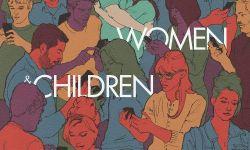 电影《男人女人和孩子》海报:漫画演绎人际关系