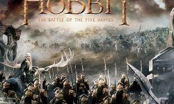 《霍比特人:五军之战》发布卷轴海报  五军之战惨烈