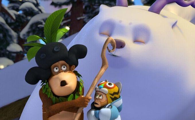 《熊出没之雪岭熊风》概念海报曝光  新成员雪熊亮相