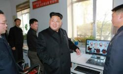金正恩视察朝鲜电影制片厂 要求把朝鲜变成动画电影大国