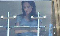 朱莉与皮特阳台吵架被拍 疑拍《海岸情深》压力过大