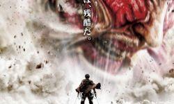 人气漫改电影《进击的巨人 真人版》:超大型巨人亮相