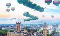 电影《像素大战》角色海报:游戏人物演化外星人进攻地球