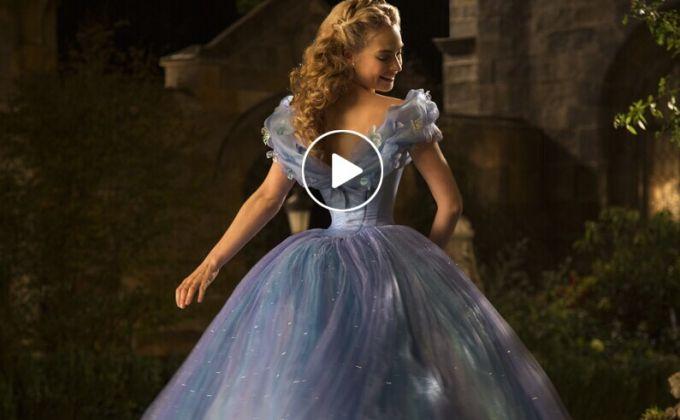 真人版电影《灰姑娘》第二款剧场版预告片发布