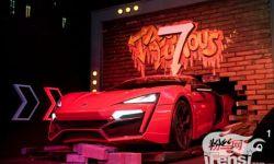 《速度与激情7》上映在即 电影原版车展亮相西单大悦城