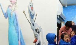 电影《冰雪奇缘》主题冰雕展让你这个夏季爽翻天