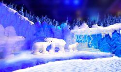 电影O2O平台猫眼试水电影周边产业  举办冰雪奇缘冰雕展