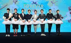 何炅导演处女作《栀子花开》首映发布会在北京举行