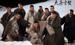 电影《大唐玄奘》在新疆杀青  剧照放出 黄晓明雪崩戏亲自上阵