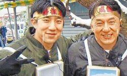 传房祖名出演老爸成龙新片《铁道飞虎》