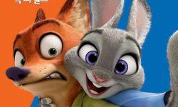 《疯狂动物城》凭借好口碑逆袭登顶韩国周末票房榜