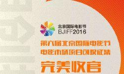 """第六届北京国际电影节电影市场""""项目创投""""版块项目征集完美收官"""
