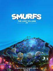 索尼电影公司《蓝精灵:失落的村庄》:蓝精灵拯救消失村庄