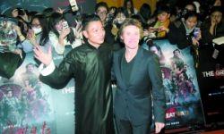 张艺谋导演携手12位主创亮相《长城》首映式