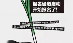 第二届CFDG中国青年导演扶持计划开始报名啦!