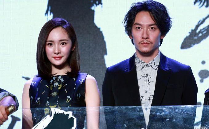 电影《绣春刀·修罗战场》网友曝片场照  杨幂要挑战打女角色?