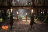 """好莱坞动作冒险电影《金刚:骷髅岛》曝光""""制霸骷髅岛""""版海报"""