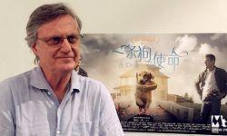 《一条狗的使命》导演莱塞·霍尔斯道姆:和萌宠拍戏乐趣多难度大