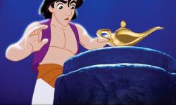 """迪士尼真人电影《阿拉丁》选角""""阿拉丁""""和""""茉莉公主"""""""