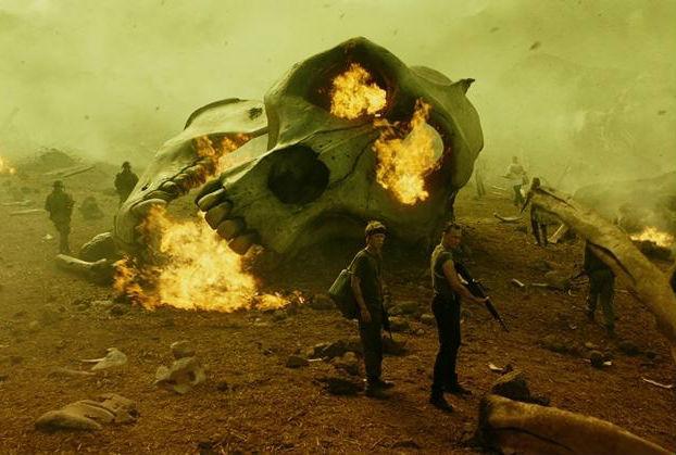 """好莱坞动作冒险电影《金刚:骷髅岛》发布""""人类禁区""""预告"""