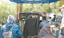 电影《奇幻变型记》在西盟佤族自治县开机拍摄