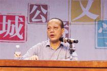 """陈祖君公益文学讲堂:""""电影不仅带来享受还引人思考"""""""