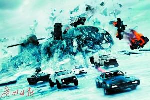 《速度与激情8》首日预售票房超过1亿元人民币