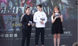 《超凡战队》中国首映礼迪玛希现场演唱点燃全场
