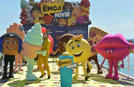 电影《表情奇幻冒险》破吉尼斯 世界最多人同时打扮为Emoji
