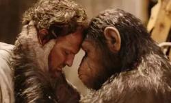 人猿大战再起,《猩球崛起3》想说爱你不容易