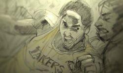 以科比为原型的动画《亲爱的篮球》将要冲击奥斯卡