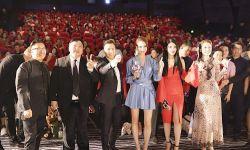 电影《追龙》在北京首映 徐冬冬化身暗夜玫瑰美到窒息