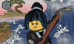 动画电影《乐高幻影忍者大电影》发布浮世绘风格角色海报