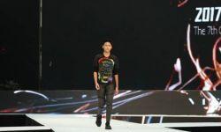 中华男模网力推天才新秀——何堃首赛展霸气台风