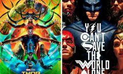 《正义联盟》《雷神3》陆续上映 漫威&DC票房谁能赢?