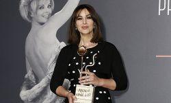 莫妮卡·贝鲁奇在罗马被授予维尔娜·丽丝奖