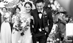 余文乐晒出婚纱照 宣布和女友王棠云结婚