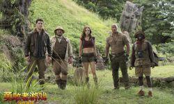 好莱坞动作冒险片《勇敢者游戏:决战丛林在举办首映礼