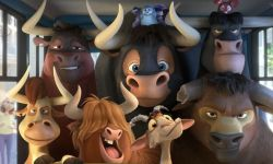 好莱坞动画巨制《公牛历险记》发布全新贺岁海报