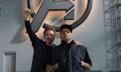《复仇者联盟3》唐尼与经纪人现身新幕后照