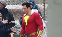 DC超级英雄大片《沙赞》曝片场照 街头大战