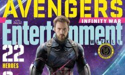 《复联》上映在即!22位复联英雄登《娱乐周刊》封面