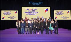 第十六届香港亚洲电影投资会颁奖典礼举行