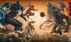 电影《环太平洋:雷霆再起》:浮世绘海报充满东方风情