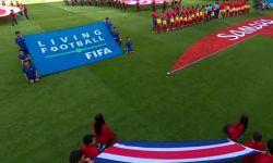 万达电影护旗手荣耀登场 中国少年亮相世界杯