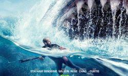 电影《巨齿鲨》发新海报  将于8月10日中美同步上映
