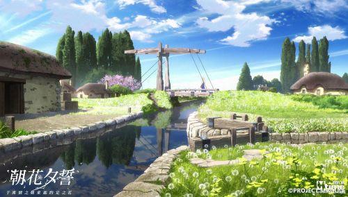宁静优美的乡下小镇