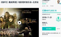 指环王视听音乐会众筹成功 12月京沪双城开启魔戒之旅