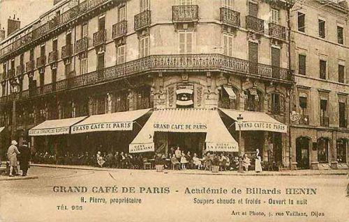 当年首次公开放映电影的格兰咖啡馆。