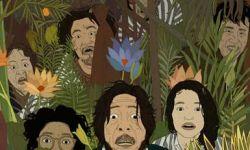 金马奖最佳动画长片导演刘健为《一出好戏》创作手绘海报